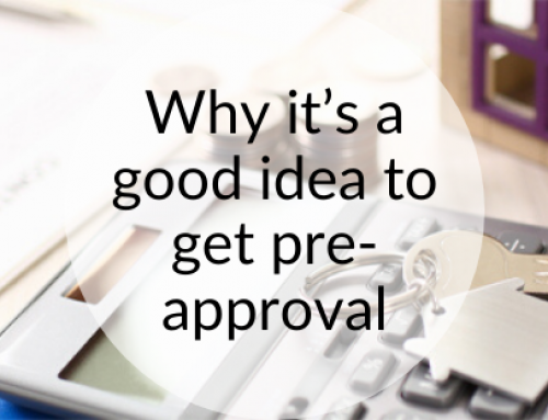 Why it's a good idea to get pre-approval